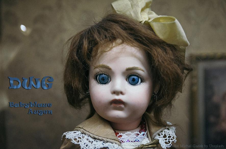 Babyblaue Augen