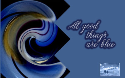 All good things are blue No.1 & 2